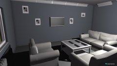 Raumgestaltung Haus Wohnzimmer ohne durchbruchswand in der Kategorie Wohnzimmer