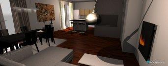 Raumgestaltung Haus1 in der Kategorie Wohnzimmer