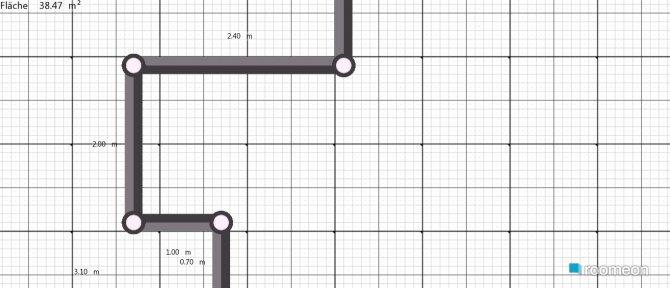 Raumgestaltung Haus in der Kategorie Wohnzimmer