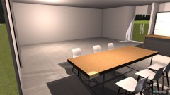 Raumgestaltung Hausbau - Wohnzimmer in der Kategorie Wohnzimmer