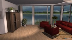 Raumgestaltung Havendreef 4de-7de verdieping oost in der Kategorie Wohnzimmer