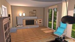 Raumgestaltung HawoziV1 in der Kategorie Wohnzimmer
