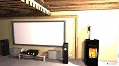 Raumgestaltung Heimkino Grobi in der Kategorie Wohnzimmer