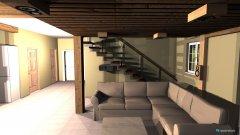 Raumgestaltung Heimkino mit versteckten Lautsprechern in der Kategorie Wohnzimmer