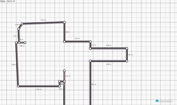 Raumgestaltung HMann V2 in der Kategorie Wohnzimmer