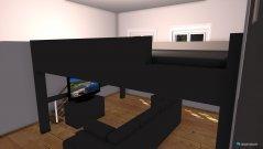 Raumgestaltung Hochbett in der Kategorie Wohnzimmer