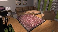Raumgestaltung Hochfeld Wohnzimmer in der Kategorie Wohnzimmer