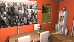 Raumgestaltung Höchstädt Wohnizimmer Bsp. in der Kategorie Wohnzimmer