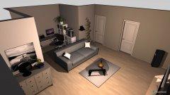 Raumgestaltung Hüllenkamp Wohnzimer in der Kategorie Wohnzimmer