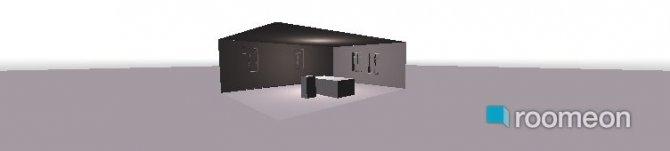 Raumgestaltung Hülsa Bauernhaus in der Kategorie Wohnzimmer