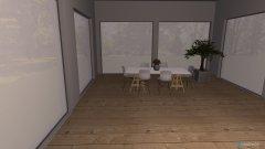 Raumgestaltung Hütte in Kukmirn in der Kategorie Wohnzimmer