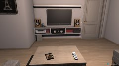 Raumgestaltung Huiskamer Edwin en Mirjam in der Kategorie Wohnzimmer