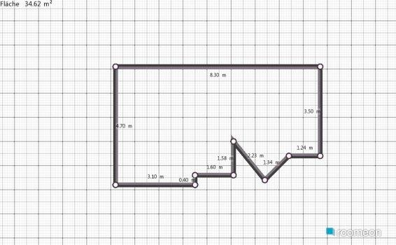 Raumgestaltung iri in der Kategorie Wohnzimmer