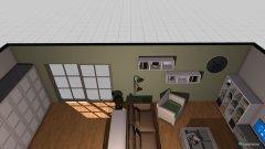 Raumgestaltung jővőbeli napppali plans in der Kategorie Wohnzimmer