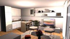 Raumgestaltung Jadranovo Wohnzimmer in der Kategorie Wohnzimmer