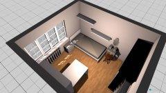Raumgestaltung Jasmin's Zimmer in der Kategorie Wohnzimmer