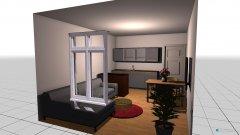 Raumgestaltung jeffs Wohnzimmer in der Kategorie Wohnzimmer