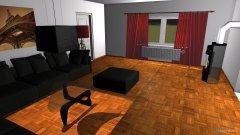 Raumgestaltung Jens Wohnzimmer in der Kategorie Wohnzimmer