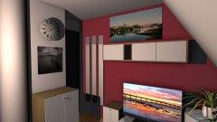 Raumgestaltung Jessi Zimmer in der Kategorie Wohnzimmer