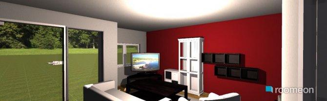 Raumgestaltung jessis wohnzimmer in der Kategorie Wohnzimmer