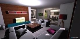 Raumgestaltung jim house in der Kategorie Wohnzimmer
