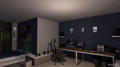 Raumgestaltung Jugendzimmer in der Kategorie Wohnzimmer