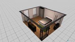 Raumgestaltung Julias zimmer in der Kategorie Wohnzimmer
