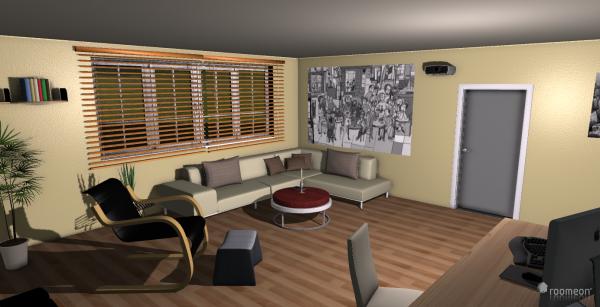 Raumgestaltung Junggesellenbude in der Kategorie Wohnzimmer