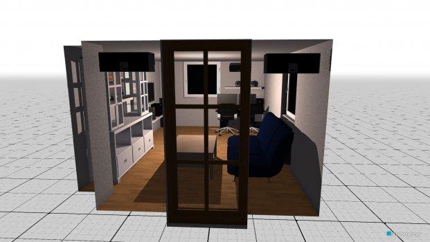 Raumgestaltung kai idee in der Kategorie Wohnzimmer