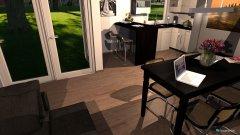 Raumgestaltung Kaki Wohnzimmer in der Kategorie Wohnzimmer