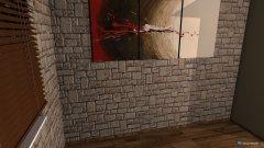 Raumgestaltung Kamin und Wohnzimmer in der Kategorie Wohnzimmer
