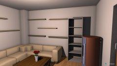 Raumgestaltung kamin zimmer  in der Kategorie Wohnzimmer