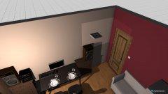 Raumgestaltung Kanciapa docelowo KK in der Kategorie Wohnzimmer