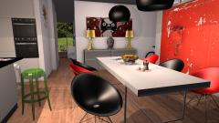 Raumgestaltung Kartell Showroom in der Kategorie Wohnzimmer