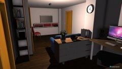 Raumgestaltung Kellerwohnung in der Kategorie Wohnzimmer