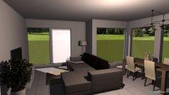 Raumgestaltung Killwangen - Wohnzimmer Variante 1 TV an Wand, Schränke getausch in der Kategorie Wohnzimmer
