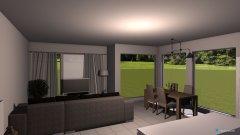 Raumgestaltung Killwangen - Wohnzimmer Variante crazy in der Kategorie Wohnzimmer