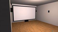 Raumgestaltung kino in der Kategorie Wohnzimmer