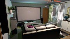 Raumgestaltung Kinoprojekt 2 in der Kategorie Wohnzimmer