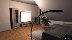 Raumgestaltung Kinozimmer in der Kategorie Wohnzimmer