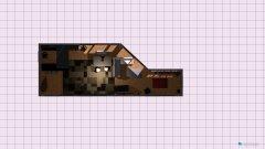 Raumgestaltung Kira's 1. Raum in braun in der Kategorie Wohnzimmer