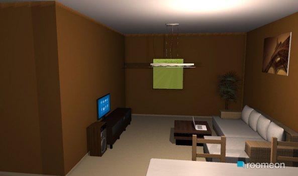 Raumgestaltung kleines haus  in der Kategorie Wohnzimmer
