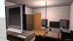 Raumgestaltung Kleines Sofa in der Kategorie Wohnzimmer