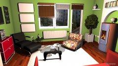 Raumgestaltung Kleines Wohnzimmer - small living room in der Kategorie Wohnzimmer