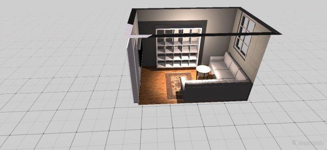 Raumgestaltung Kleines Zimmer in der Kategorie Wohnzimmer