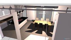 Raumgestaltung KochenEssenWohnen in der Kategorie Wohnzimmer