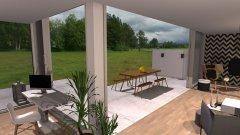 Raumgestaltung Komat + Norr11 + Softline Showroom V4 in der Kategorie Wohnzimmer
