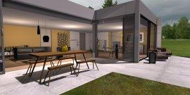 Raumgestaltung Komat + Norr11 + Softline Showroom in der Kategorie Wohnzimmer