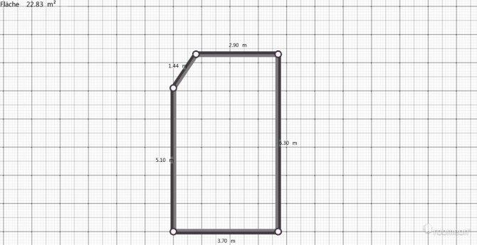 Raumgestaltung krei14 in der Kategorie Wohnzimmer