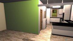 Raumgestaltung KuccheWohnzimmer in der Kategorie Wohnzimmer